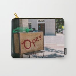 Open and Available Carry-All Pouch
