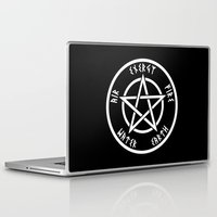 pentagram Laptop & iPad Skins featuring Pentagram by Urban Monk Store