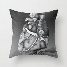 Transplantation I Throw Pillow