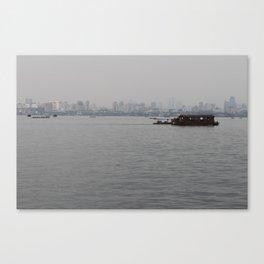 Hangzhou Lake and City Canvas Print