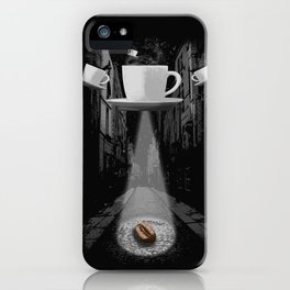 Mr. Coffee Bean iPhone Case