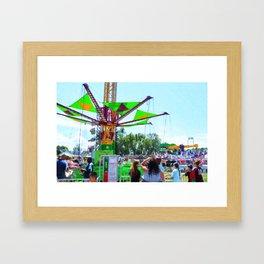 Sky Hawk Framed Art Print