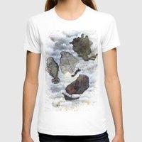 ship T-shirts featuring Ship by Andreas Derebucha