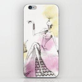Glamour toast iPhone Skin