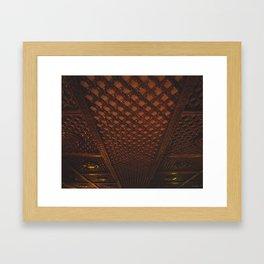 Kathmandu City - Architecture 03 Framed Art Print