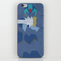 megaman iPhone & iPod Skins featuring Megaman X  by JHTY