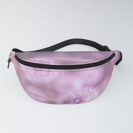 Romantik pink dandelion flower meadow Fanny Pack