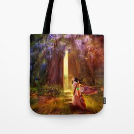 A Knock At The Door Tote Bag