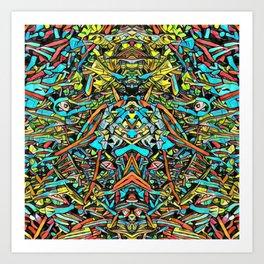 Zumachi Art Print