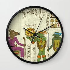 hero-glyphics: TMNT Wall Clock