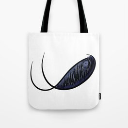 Midnight Whale Tote Bag