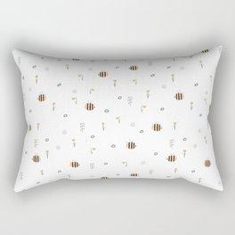 Nature Awaking Rectangular Pillow