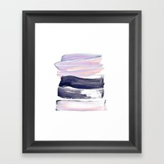 summer pastels Framed Art Print