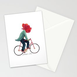 Mr. Rose Pedals Pun Stationery Cards
