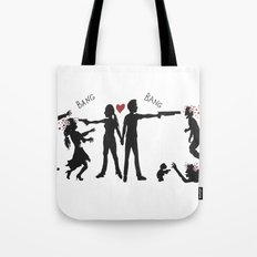 Zombie Hunting II Tote Bag