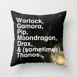 Tribute 3 - Infinity Watch Throw Pillow