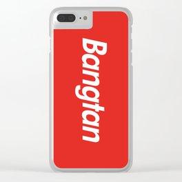 BTS Bangtan Box Logo Clear iPhone Case