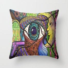 Santeria Throw Pillow
