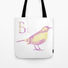 B is for Bird; Tote Bag