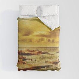 Autumn Sunset Comforters