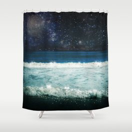 The Sound and the Silence Shower Curtain