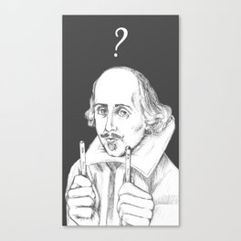 2B or not to be? Canvas Print