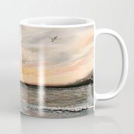Birds on the ocean Coffee Mug