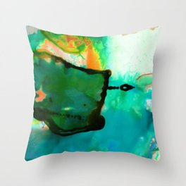 Abstract Bliss 4P by Kathy Morton Stanion Throw Pillow