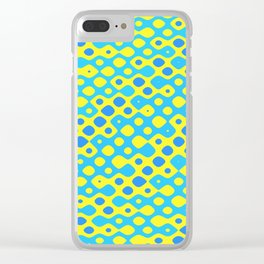 Brain Coral Blue Banded Small Polyps - Coral Reef Series 027 Clear iPhone Case