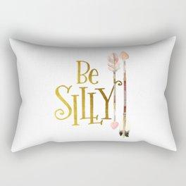 Be Silly Rectangular Pillow