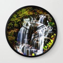 Waterfall # 2 Wall Clock