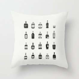 Lil' Whiskys Throw Pillow