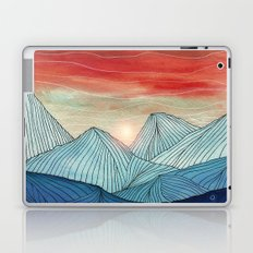 Lines in the mountains IV Laptop & iPad Skin