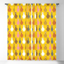 The Alpacas-Are-Not-Llamas Parade Blackout Curtain