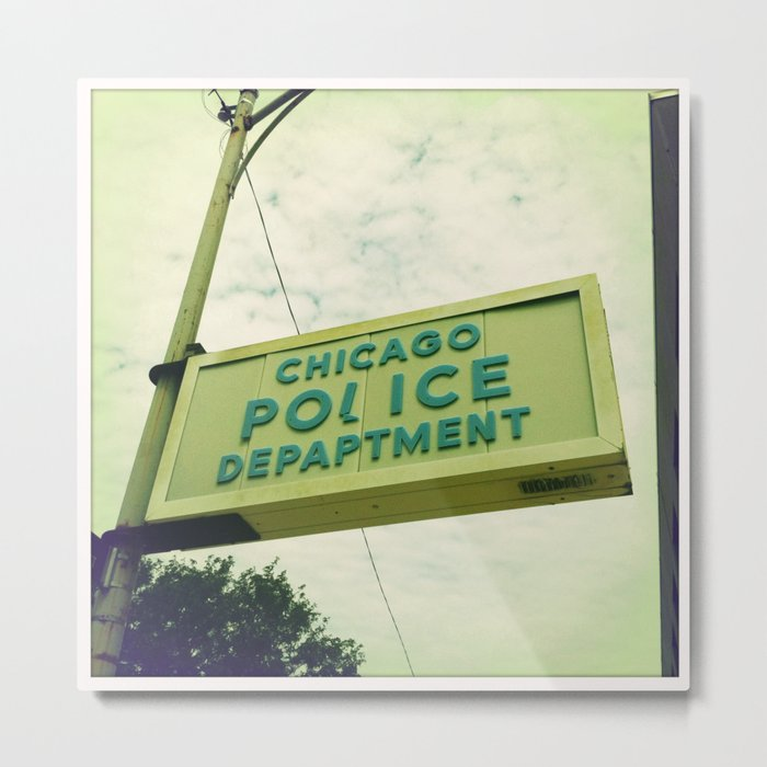 Chicago Police Department Metal Print