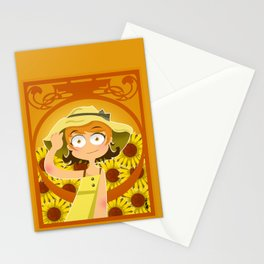Summer Gal Stationery Cards
