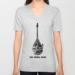 Rebel Bass Unisex V-Neck
