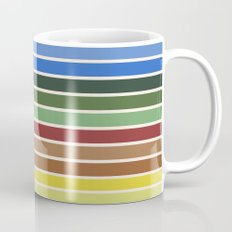 The colors of - Castle in the sky Mug