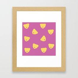 Inner Bear Framed Art Print