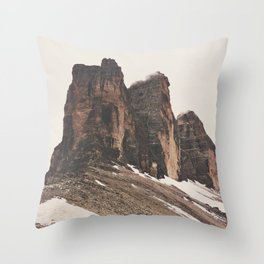 Three Rocks Throw Pillow