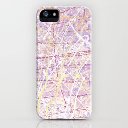 Flight of Color - Lilac iPhone Case