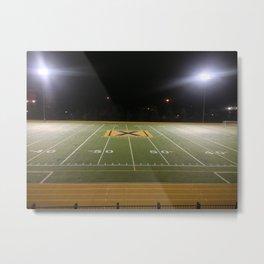 STFX Football Field Metal Print