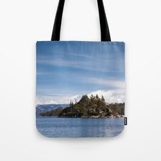 Fannette Island, Lake Tahoe, California Tote Bag