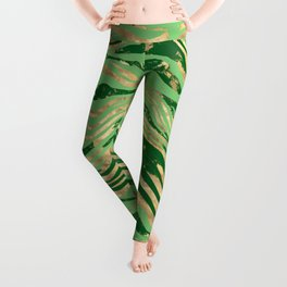 Green grow Leggings