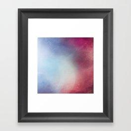 Galaxy Blossom Framed Art Print