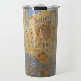 Monet, Rouen Cathedral, La Cathédrale de Rouen Travel Mug