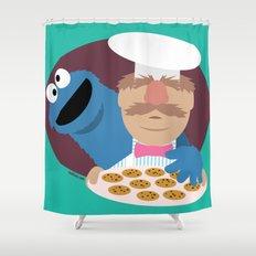 Cookie temptation Shower Curtain