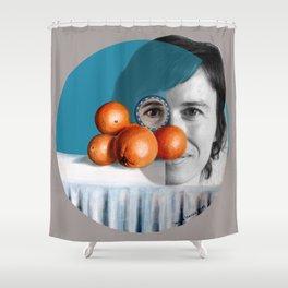 The ORANGEGIRL Shower Curtain