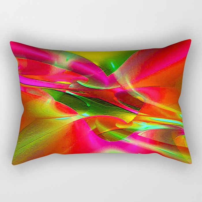 """""""In every color there is some light"""" Rectangular Pillow"""