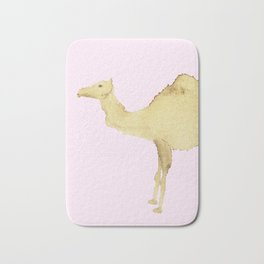 Coffee Stain Camel Bath Mat